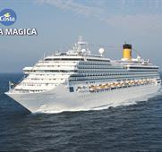 Španělsko, Itálie, Francie z Marseille na lodi Costa Magica