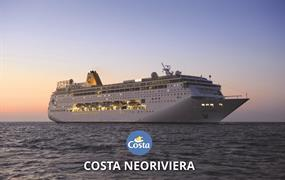 Maledivy, Omán, Izrael, Řecko, Itálie Z Male na lodi Costa neoRiviera