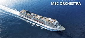 Velká Británie, Německo ze Southamptonu na lodi MSC Orchestra