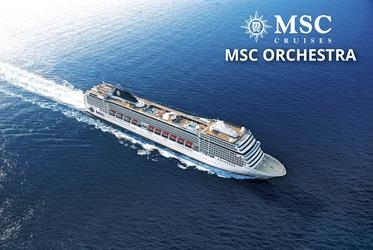 Itálie, Francie z Janova na lodi MSC Orchestra
