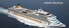Itálie, Francie, Španělsko, Brazílie ze Savony na lodi Costa Pacifica
