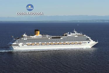 Francie, Itálie z Marseille na lodi Costa Favolosa