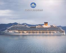 Spojené arabské emiráty, Omán, Katar z Abu Dhabi na lodi Costa Diadema ****