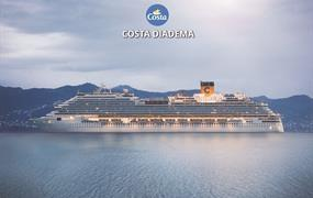 Spojené arabské emiráty, Omán, Katar z Abu Dhabi na lodi Costa Diadema