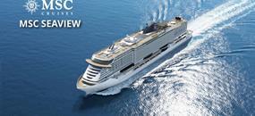 Španělsko, Francie, Itálie z Palma de Mallorca na lodi MSC Seaview