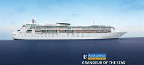 USA, Svatý Martin, Svatá Lucie, Barbados, Svatý Kryštof a Nevis z Baltimoru na lodi Grandeur of the Seas
