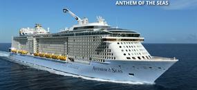 USA, Svatý Martin, Antigua a Barbuda, Svatá Lucie, Svatý Kryštof a Nevis z Cape Liberty na lodi Anthem of the Seas