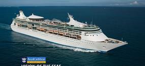 USA, Britské Panenské ostrovy, Antigua a Barbuda, Barbados, Svatá Lucie, Dominikánská republika ze San Juan na lodi Vision of the Seas