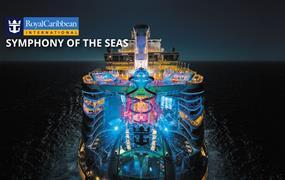 USA, Svatý Martin, Bahamy z Miami na lodi Symphony of the Seas