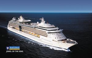 USA, Svatá Lucie, Barbados, Antigua a Barbuda, Svatý Martin ze San Juan na lodi Jewel of the Seas