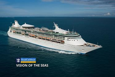 USA, Bahamy z New Orleans na lodi Vision of the Seas