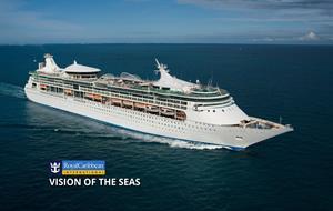USA, Bahamy z New Orleans na lodi Vision of the Seas
