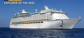 Singapur, Malajsie, Indie, Spojené arabské emiráty na lodi Explorer of the Seas