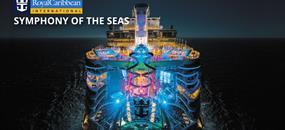 USA, Svatý Kryštof a Nevis, Bahamy z Miami na lodi Symphony of the Seas