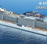 Itálie, Malta, Španělsko, Francie z Civitavecchia na lodi MSC Grandiosa ****