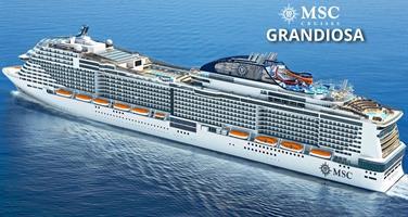 Itálie, Malta, Španělsko, Francie z Janova na lodi MSC Grandiosa