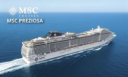 Francie, Itálie z Janova na lodi MSC Preziosa