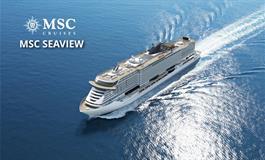 Španělsko, Itálie z Janova na lodi MSC Seaview