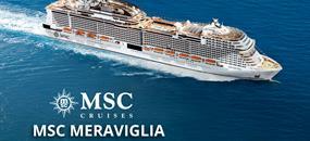 Itálie, Francie, Španělsko, Portugalsko, Velká Británie, Německo z Janova na lodi MSC Meraviglia
