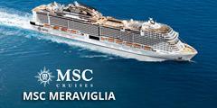 Dánsko, Finsko, Rusko, Estonsko, Německo z Kodaně na lodi MSC Meraviglia