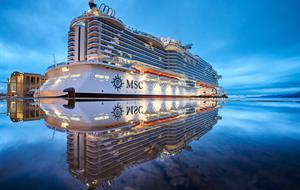USA, Svatý Martin, Bahamy z Miami na lodi MSC Seaside