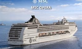 Francie, Itálie z Janova na lodi MSC Opera