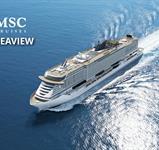 Itálie, Francie, Španělsko z Civitavecchia na lodi MSC Seaview ****