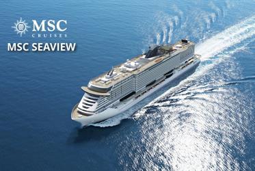 Francie, Španělsko z Cannes na lodi MSC Seaview