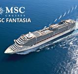 Francie, Itálie z Janova na lodi MSC Fantasia ****