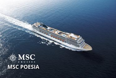 Francie, Itálie z Janova na lodi MSC Poesia
