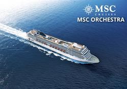 Francie, Itálie z Janova na lodi MSC Orchestra