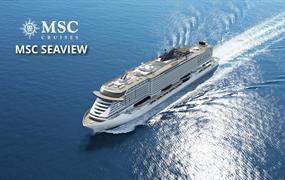 Brazílie, Španělsko, Francie, Itálie ze Santosu na lodi MSC Seaview