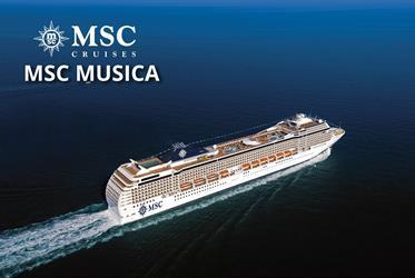 Jihoafrická republika, Mosambik z Durbanu na lodi MSC Musica