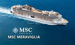 Itálie, Francie, Španělsko z Barcelony na lodi MSC Meraviglia
