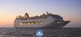 Francie, Španělsko, Itálie, Malta ze Savony na lodi Costa neoRiviera