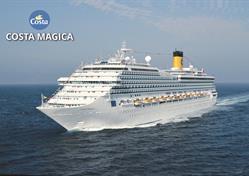 Francie, Španělsko, Itálie z Marseille na lodi Costa Magica