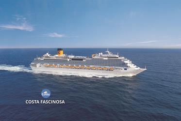 Francie, Španělsko, Itálie z Marseille na lodi Costa Fascinosa