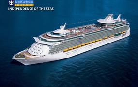 USA, Kajmanské ostrovy, Mexiko na lodi Independence of the Seas
