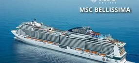 Itálie, Francie, Španělsko z Marseille na lodi MSC Bellissima