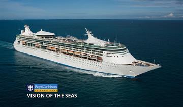 USA, Mexiko z Galvestonu na lodi Vision of the Seas