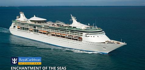 USA, Mexiko z Galvestonu na lodi Enchantment of the Seas
