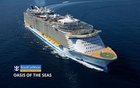 USA, Svatý Martin, Haiti z Miami na lodi Oasis of the Seas