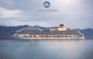 Itálie, Francie, Španělsko z Civitavecchia na lodi Costa Diadema