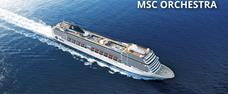 Francie, Španělsko, Itálie z Janova na lodi MSC Orchestra