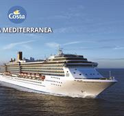 Francie, Španělsko, Itálie z Marseille na lodi Costa Mediterranea