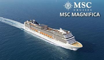 Itálie, Francie, Španělsko z Barcelony na lodi MSC Magnifica