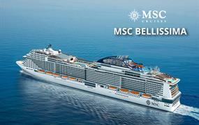 Francie, Itálie, Malta, Španělsko z Neapole na lodi MSC Bellissima