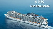 Francie, Itálie, Malta, Španělsko z Messiny na lodi MSC Bellissima
