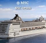 Mexiko, Kuba z Cozumelu na lodi MSC Opera ***+