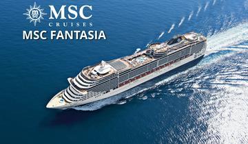 Brazílie ze Salvadoru na lodi MSC Fantasia